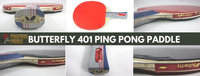 Butterfly 401 Ping pong paddle
