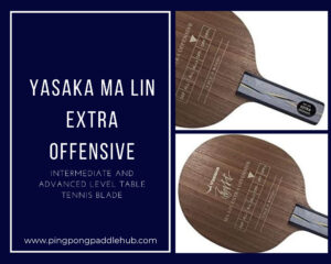 best ping pong paddle blade