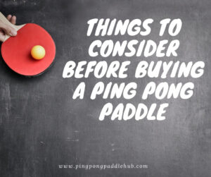 best ping pong blade guide